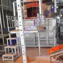 设计建造2吨24%铅玻璃电熔炉