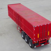 半挂车集装箱栏板自卸厢式半挂车新疆11米13米半挂车