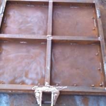 启闭机厂供应1.2*1.2米钢制闸门 按图纸定做钢闸门