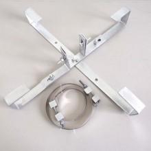adss/opgw光缆余缆架余缆支撑架杆用余缆架光缆预留架