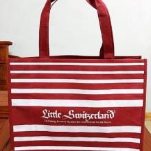 广州食品月饼环保袋手缝双手提立体袋高档礼品礼盒无纺布袋购物袋