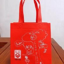 高档礼品袋满版印刷袋超声波机压立体袋丝印环保袋广告食品宣传袋