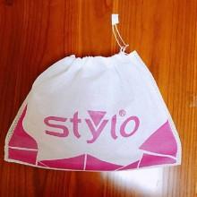 广州机压单绳无纺布袋鞋业鞋套环保袋礼品礼盒包装袋丝印收纳袋