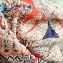 时装面料 时尚雪纺花 女式长裤长裙