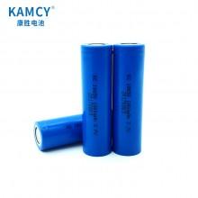 康胜电池厂家直供18650锂电池2000毫安 照明专用