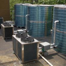卓奥承建南京职业技术学校20吨空气源热水工程
