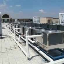 职工公共澡堂20吨空气能热泵热水系统改造