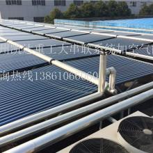 常州凯达重工职工澡堂40吨太阳能空气能热水工程