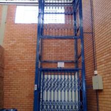 升降货梯导轨链条式升降平台 厂家定做