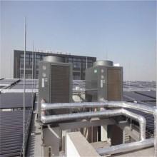 杭州武警部队42组太阳能2台5匹奥栋空气能热水工程