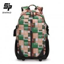 申派韩版双肩包 时尚休闲背包 户外运动背包学生书包批发