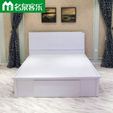 大连板式家具822A床卧室家具