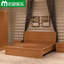 大连板式家具3318双人床