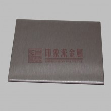 供应 304雪花砂拉丝不锈钢板材 装饰板定制 厂家
