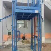 导轨式液压升降机仓库装卸货液压电动升降平台小型厂房简易货梯
