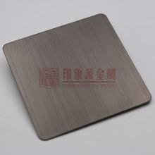 供应 304不锈钢拉丝黑钛板 拉丝不锈钢板 厂家直销 定制