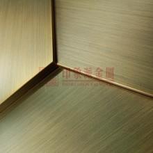 供应 304发黑青古铜拉丝焊接不锈钢板材 专业加工焊接