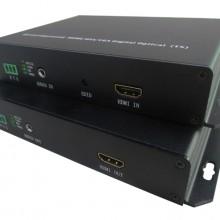 朗恒HDMI+AUDIO+RS232无压缩光纤传输10KM