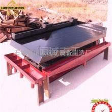金矿铁矿成套选矿设备LY系列摇床质量高操作方便材质好