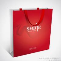 宁夏银川定制做铜版纸袋,可印文字可印logo,颜色大小可选