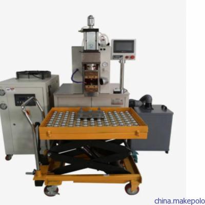 电磁炉线圈发热盘引出线焊接机不用去漆皮焊接效率快