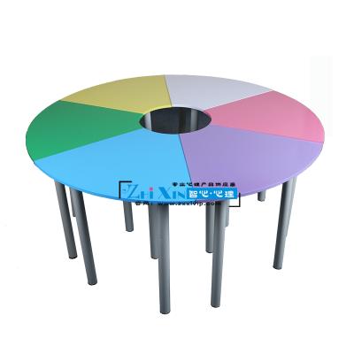 陕西学校咨询室团体活动桌椅生产厂家