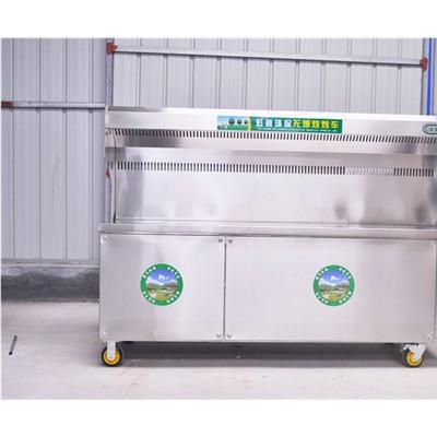重庆 2.5米 环保无烟烧烤车 厂家直销 规格齐全