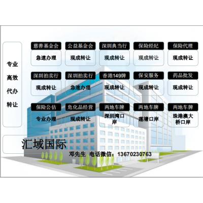 深圳的安保服务许可转让需要多少费用