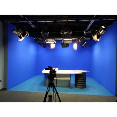 虚拟演播室直播项目县级电视台演播室设备