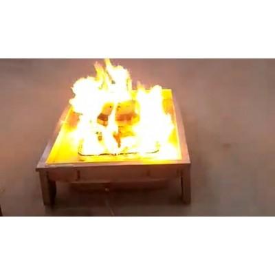 消防演习模拟真火发生装置可移动