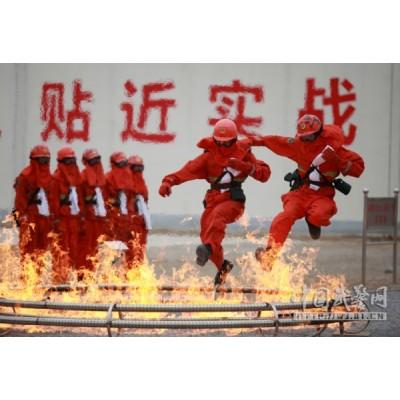 青岛凌鼎战训式真火烟热训练系统