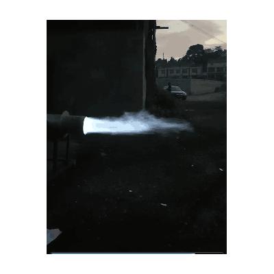 秸秆气化设备生物能源气化炉生产出蓝火高热值