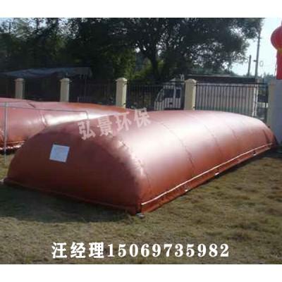 红泥沼气袋--沼气包-沼气池-防渗系数高其尺寸价格多少
