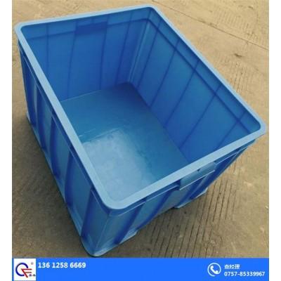 湛江乔丰多少钱一个塑胶箱 超市仓库塑料筐 消毒餐具箱