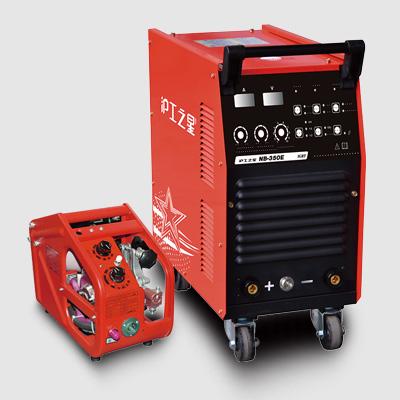 上海沪工NB-350E工业电焊机二氧化碳气体保护焊机