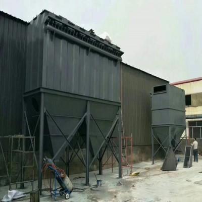 平顶山铸造厂混砂机除尘器设备安装调试工作