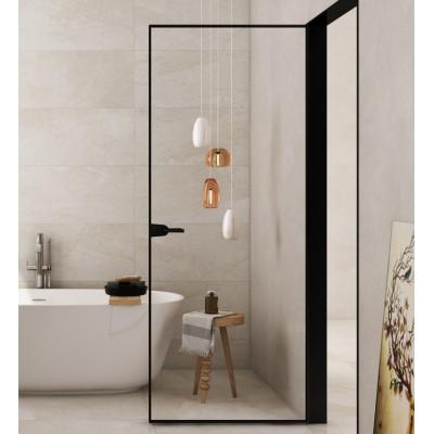 重庆网红简约窄边平开门铝镁合金卫生间门极窄边框厨房室内门定制