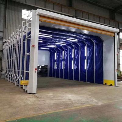 广东整体移动喷漆房 移动式电动伸缩房 按需定制一站到底