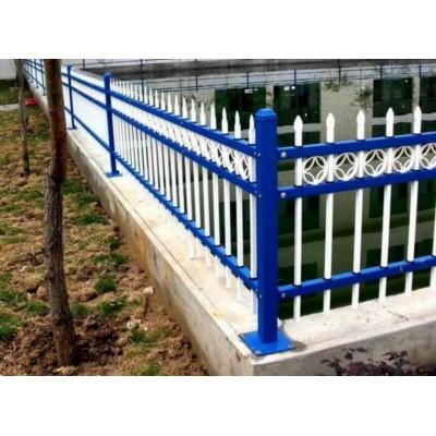 洛阳铁艺围墙护栏锌钢围栏栏杆庭院铁栅栏户外围墙小区别墅护栏