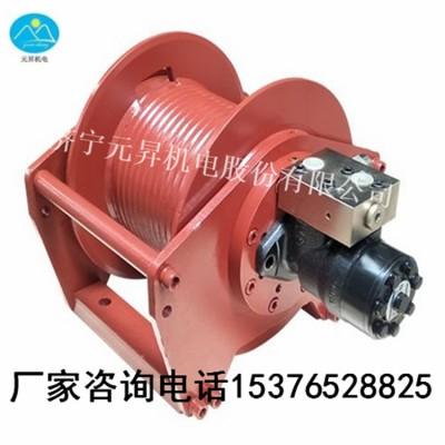钻机配套液压绞车价格 单绳1.5吨液压绞车厂家直销