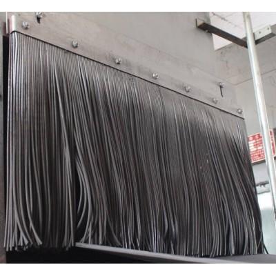 挡尘帘  导料槽阻燃橡胶耐高温挡尘帘  环保挡尘帘