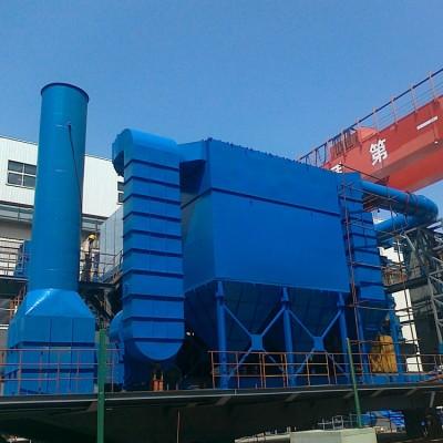 燃煤锅炉脉冲布袋除尘器采用分室停风清灰技术