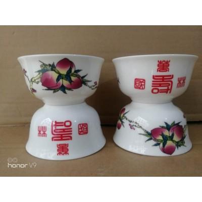 寿辰回赠礼品寿碗定制加字厂家