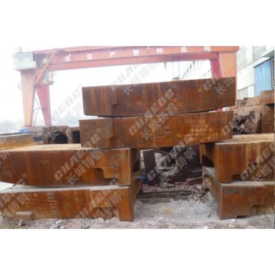 陶瓷机左右立柱 耐磨性能强 长城铸钢供应加工