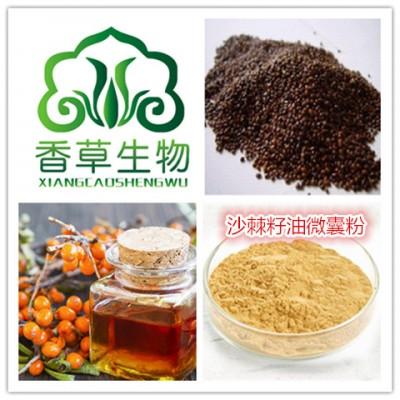 沙棘籽油微囊粉厂家直销 沙棘籽油粉现货 沙棘籽油微囊粉