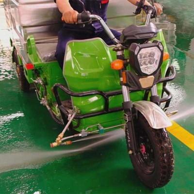 高压清洗车750L小型厂家直供优质电动三轮清洗车