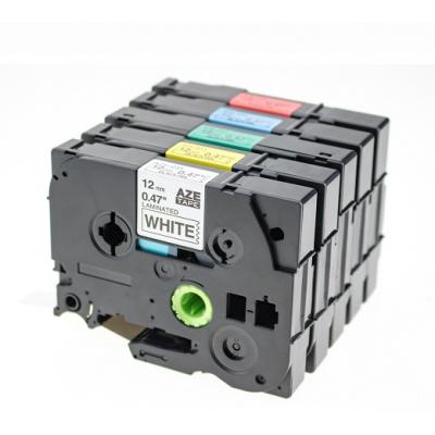 WZE-731标签机色带适用PT-D600不干胶覆膜色带