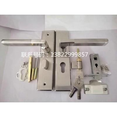 厂家直销304不锈钢执手锁单舌锁房间机械门锁