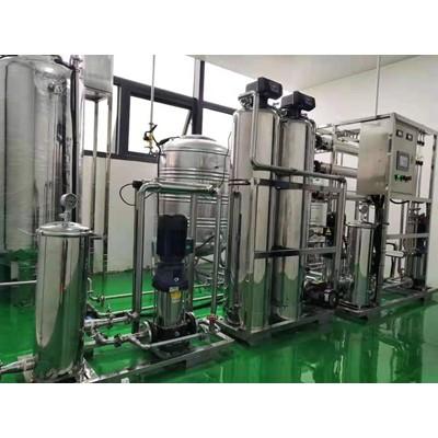 靖江医院纯化水设备 靖江医疗消毒清洗纯化水设备 GMP认证