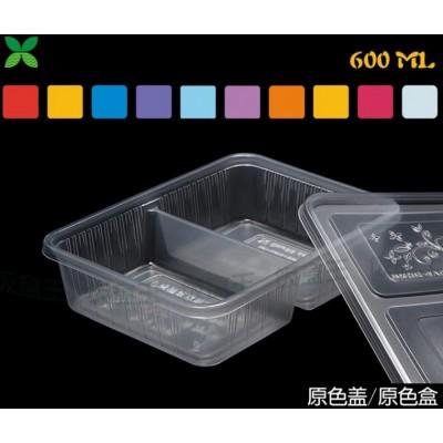 两格一次性餐盒一次性饭盒 快餐盒生产设备